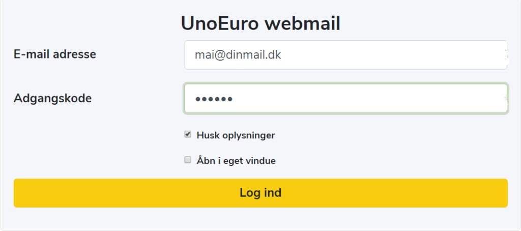 unoeuro mail